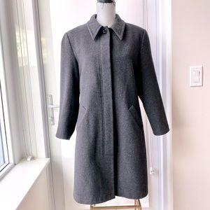 ARITZIA Talula Babaton Wool Cashmere Blend Coat